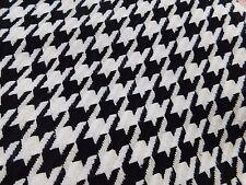 coupon de tissu  lainage laine polyviscose pied de coq  3.00 m ;ref F sha