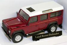 Oxford 1/43 Scale - 53260 Land Rover Defender 110 Red Station Diecast model car