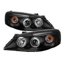 Spyder 5011596 Halo Projector Headlights Black 2pc For 05-08 Pontiac G6 NEW