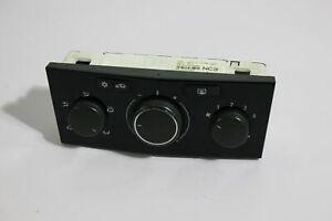 MK5 Astra VXR Piano black heater controls