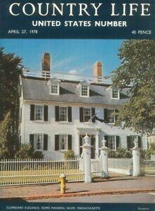 Country Life Magazine Galveston Virginia Kipling 27 April 1978 Birthday Gift