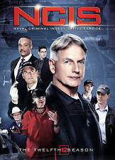 NCIS: The Twelfth Season (DVD, 2015, 6-Disc Set) NEW