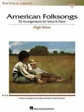 American Folksongs : 35 Arrangements for Voice and Piano (2002, Paperback)