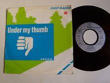 "FAST RADIO : Under my thumb (Jagger & Richards) 7"" 1983 dance ARABELLA 105 173"