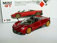 TSM PAGANI HUAYRA ROADSTER ROSSO MONZA 1/64 SCALE REF:50