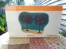 Dept 56 Halloween Village Spooky Willows Nib