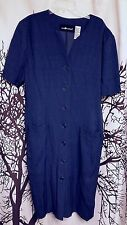 Sag Harbor brand royal blue career dress women's size 14
