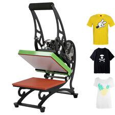 Portable T-shirt Heat Press Digital Transfer Machine With Two LCD Screen 2018