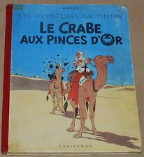 TINTIN -9- / Le crabe aux pinces d'or  / B3 1949  4HT / BE