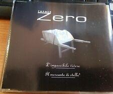 RENATO ZERO - L'IMPOSSIBILE VIVERE / IL MERCANTE DI STELLE - RARO CD SINGOLO