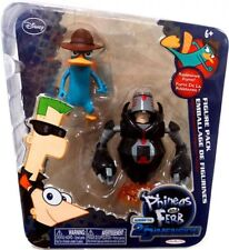 Phineas and Ferb Across the 2nd Dimension Agent P & Normbot Action Figure 2-Pack