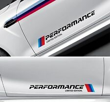 BMW M Perf LIMITED EDITION NEW M Sport Side x2 Skirt Vinyl Sticker Decal