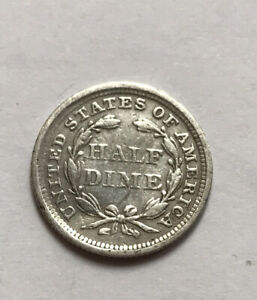 Us half dime 1856