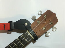 Ukulele / Mandolin leather neck cradle / strap loop - Handmade in U.K