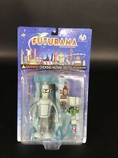 Futurama Bender Action Figure with Suicide Booth. Moore Collectibles
