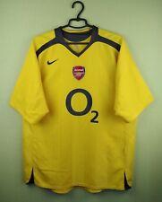 Arsenal London jersey shirt 2005/2006 Away official nike soccer football size XL