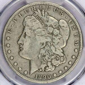 1890-CC 1890 Morgan Dollar PCGS VG10