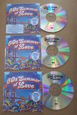 60s Summer Of Love UK 60-track promo test 3-CD Kinks Traffic Bert Jansch Donovan