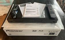 Pioneer Elite BDP-80FD Streaming 3D Wi-Fi Built-In SACD Blu-Ray DVD Disc Player