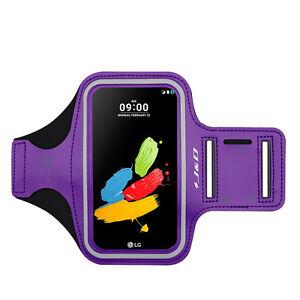 J&D LG Stylus 2/LG Stylo 2 Sport Armband w/ Keyholder Slot,Earphone Connection