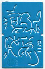 1960s / 1970s Kelloggs Stencil SAM (Blue)