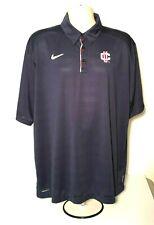 NIKE TEAM UC Sz XL Golf Polo S/S Shirt Mens X Large Blue