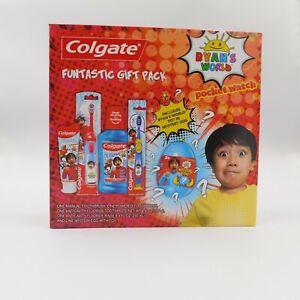 New Ryans World Colgate Kids Toothpaste Battery Powered Toothbrush Mystery Egg