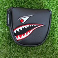 Golf Toothy Shark Putter HeadCover Magnetic Cover for Scotty Odyssey 2ball