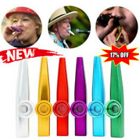 Metal Harmonica Kazoo Mouth Flute Musical Instrument Kid Party Gift Durable NEW