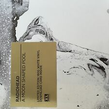 Radiohead a Moon Shaped Pool Limited Edition 2 X Opaque White Vinyl LP 2016