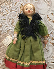 Vintage Lenci felt doll 9 Inches Tall