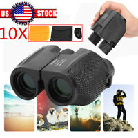 10X25 HD Porro Prism Binocular High Times High-definition Telescope Waterproof