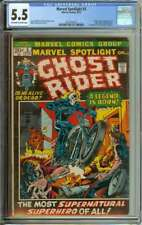 MARVEL SPOTLIGHT #5 CGC 5.5 OW/WH PAGES