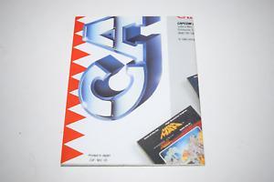 Arcade Action Capcom CAP-NES-US 1988 Nintendo NES Game Catalog Poster Insert