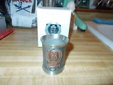 Harley-Davidson 90TH ANNIVERSARY PEWTER SHOT GLASS 3314 of 5000