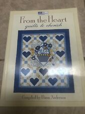 Quilting Book- From The Heart-Quilts To Cherish