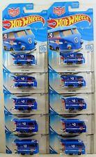 Hot Wheels 2019 #136/250 Volkswagen 2/10 KOOL KOMBI Blue Magnus Walker Lot of 10