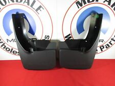 DODGE RAM 1500 2500 3500 REAR Splash Guards w/ Fender Flares NEW OEM MOPAR