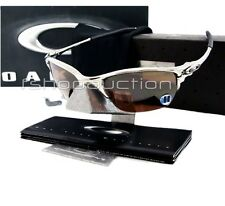 Oakley 04-142 HALF X Polished VR28 Blk Mens Rare X Metal Collectors Sunglasses