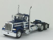 1/64 DCP BLUE/WHITE PETERBILT 379 DAY CAB