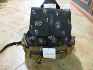 DESIGUAL Backpack Back Bindi Tribeca Modell 20WAKA09 4002 Rucksack Neu
