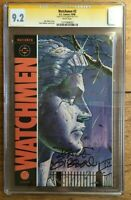 Watchmen #2 1986 Alan Moore CGC SS 9.2 Signed by Dave Gibbons