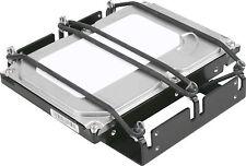 """SHARKOON 8,89cm (3.5"""") Festplatte Entkoppler HDD Vibe Fixer 5,25"""""""