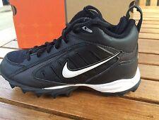 Boys Nike Football Cleats Land Shark  Black/White  Boys Size 2