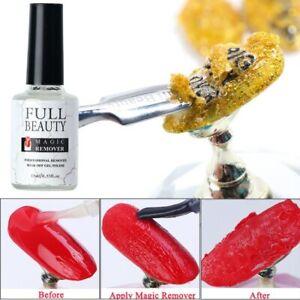 Nail Manicure Polish Gel Remover Soak Off Cleaner Remover 1pcs 15ml Liquid Tool