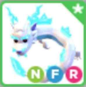 Neon Fly Ride NFR Frost Fury - Adopt me pet ! Roblox