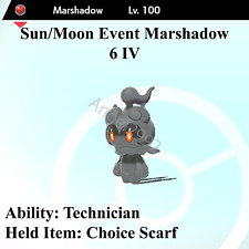 Marshadow | 6 IV | Battle Ready | Pokémon Sword & Shield