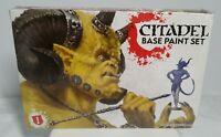 Citadel Warhammer 40k Base Paint Set 60-22 11 Paints & 1 Brush