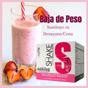 OMNILIFE STRAWBERRY SHAKE MEAL REPLACEMENT 12 SACHETS 🍓FREE SHIPPING🍓