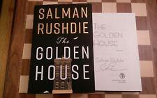 THE GOLDEN HOUSE FIRMADO SALMAN RUSHDIE 1º EDICIÓN 2ª Impresión